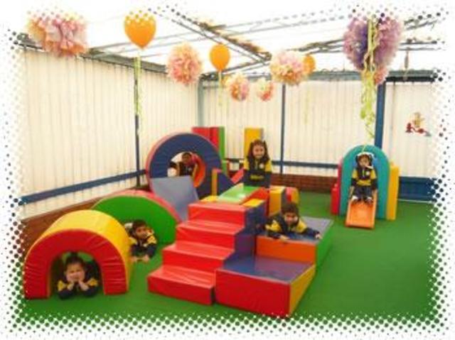 el primer dia del jardin infantil