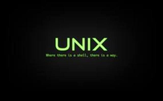 Primera version de Unix
