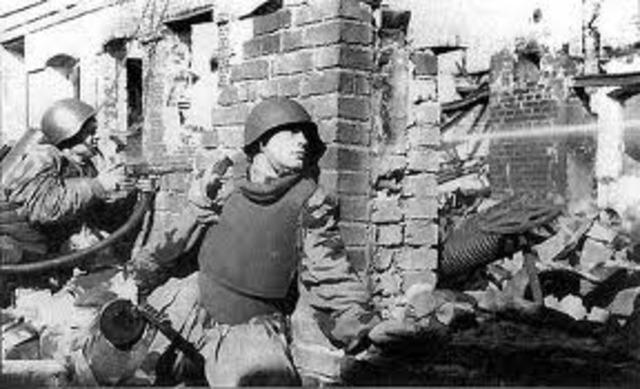 German Defeat At Stalingrad