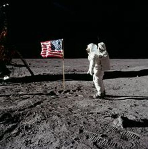 One small step for man and one giant leap for mankind!