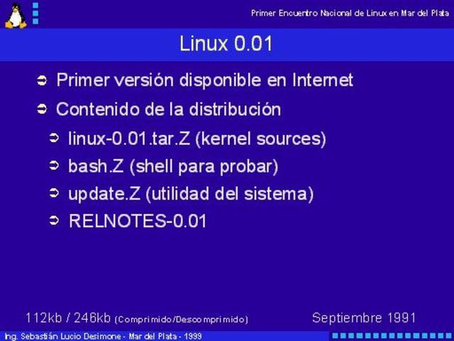 Linux 0.01