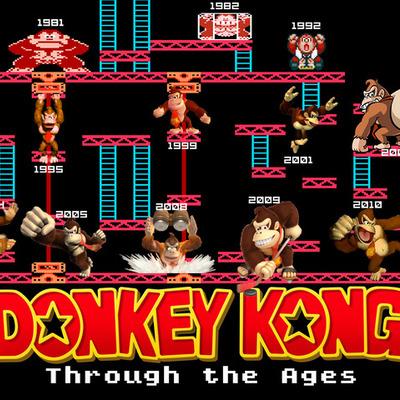 Donkey Kong: Beginnings timeline