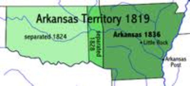 Arkansas From A Territory To The Civil War Timeline
