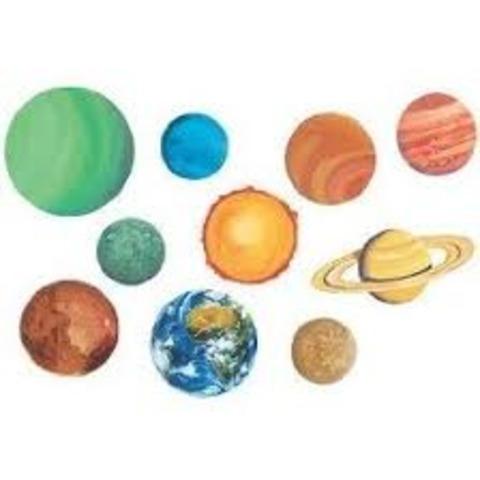 (4.6 BYA) Planets