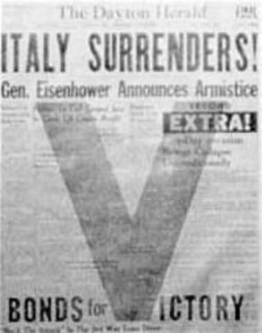 Italy surenders