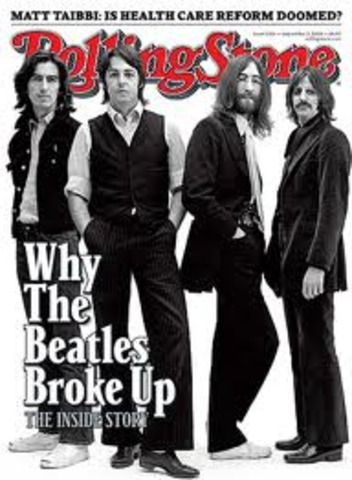 1970 Beatles Break Up