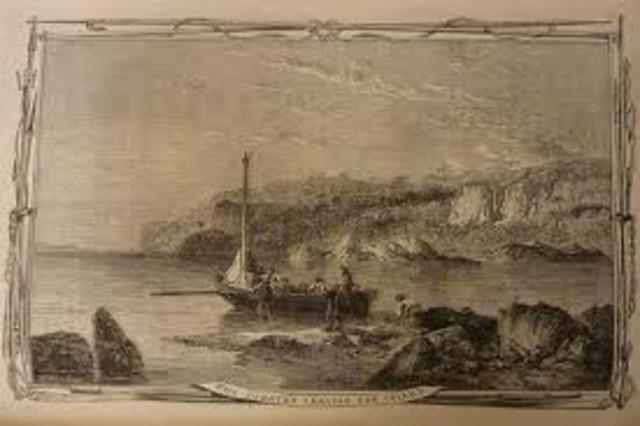 Crusoe Discovers English Ship