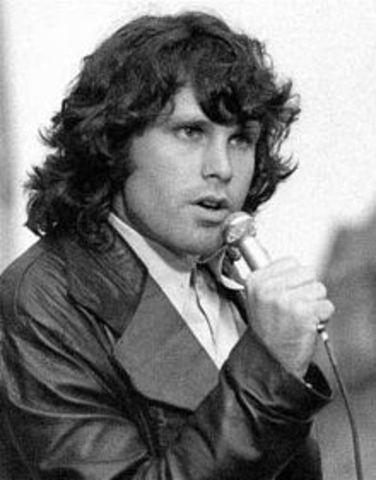 Jim Morrison dies