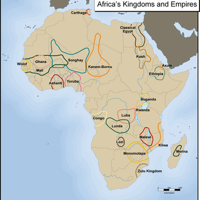 African Empires By: Riley Despathy, period 1 timeline