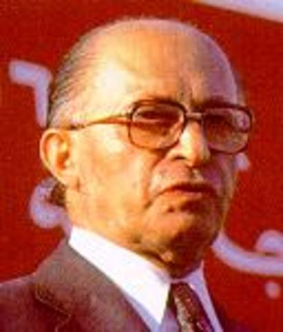 Menachem Begin becomes Prime Minister of Israel in 1977