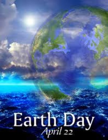 •	First Earth Day