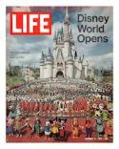 •	Disney World Opens