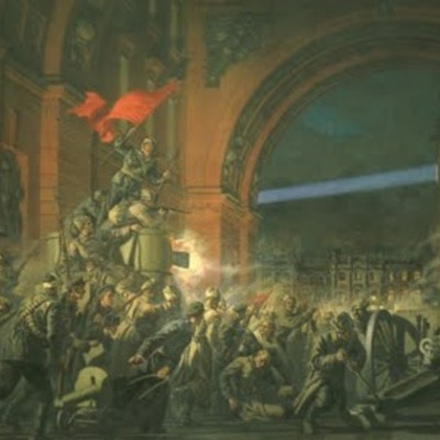 La Revolució Russa de 1917 timeline