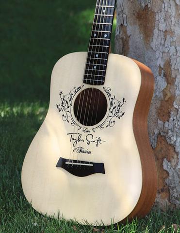 Taylors' first guitar