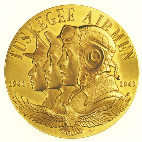 Congressional Gold Medal of Honor Adwarded to Tuskegee Airmen