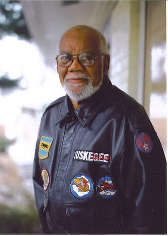 Tuskegee Airman with Scott ties passes