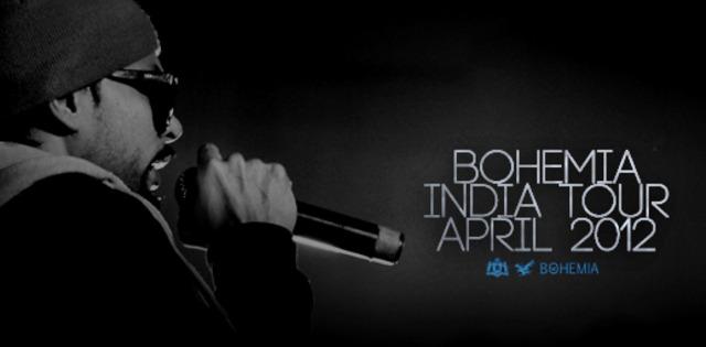 BOHEMIA INDIA TOUR APRIL 2012