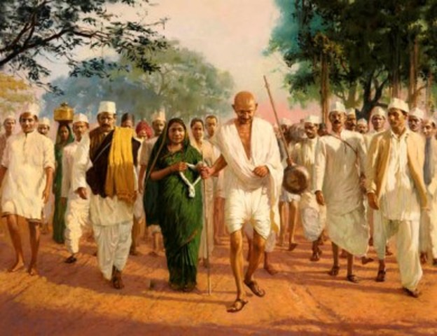 India Independence Movement timeline | Timetoast timelines