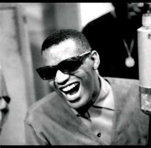 Ray Charles- he was a young musical influence