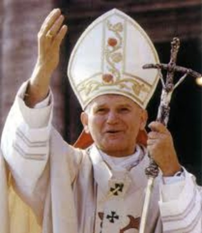 •	John Paul II Becomes Pope