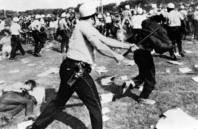 Black Ghettoes burst into Violence