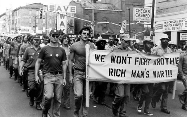 Rich Man's War, Poor Man's Fight