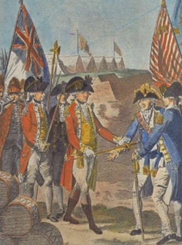 end of Revolutionary War in Victory