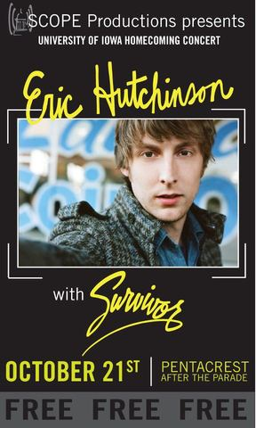 Eric Hutchinson and Survivor