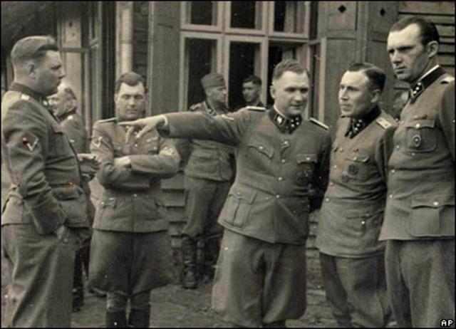 Josef Mengele flees Auschwitz
