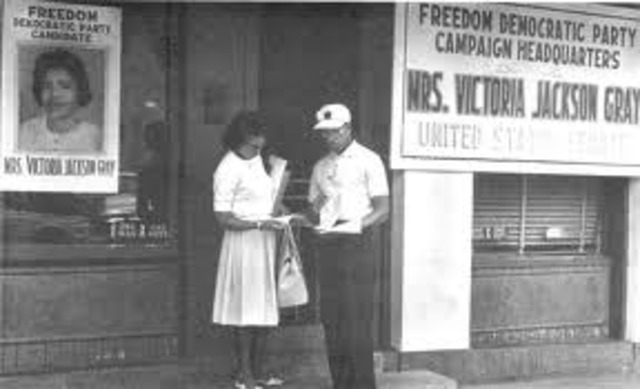 Freedom Summer and the Mississippi Freedom Democratic Party