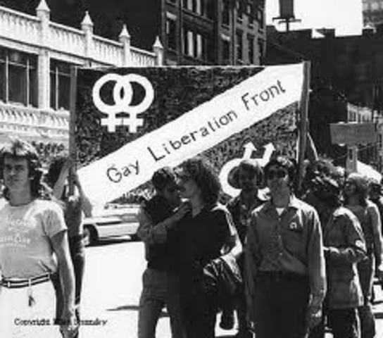 The Gay Liberation Front