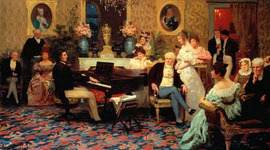 History of the Romantic Musical Period timeline