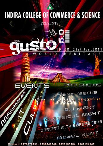 Gusto 5.0 College fest Pune