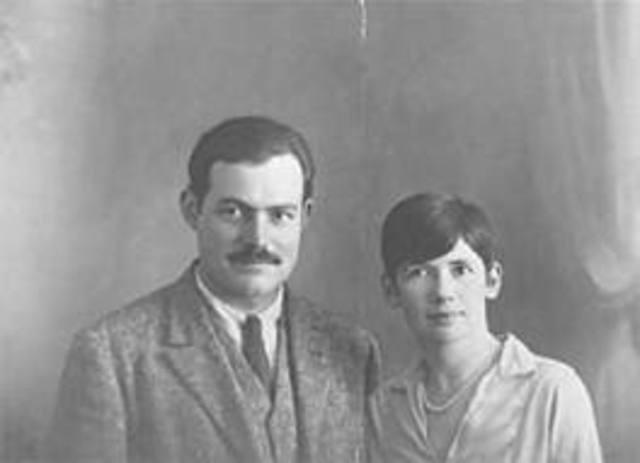 Hemingway married Pauline Pfeiffer