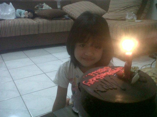 her 6th birthday