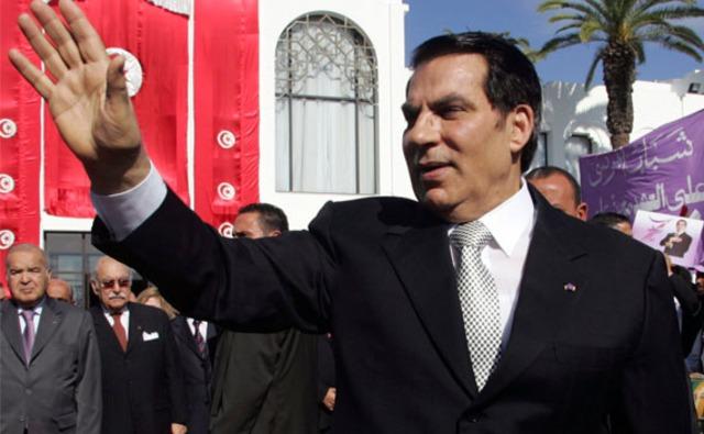 Ben Ali flees to Saudi Arabia