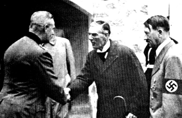 Munich Pact signed