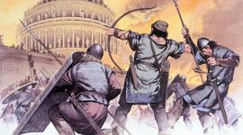 The Fall of Rome (C.E) timeline