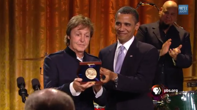 Honored by Barack Obama with the Gershwin Prize