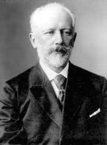 Neixement de Txaikovski