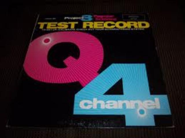 Quadrophonic (four channel) records