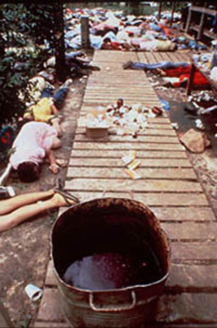 "Jonestown ""Massacre"" Occurs"