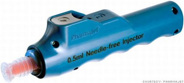 Needle-Free Vaccine Injections