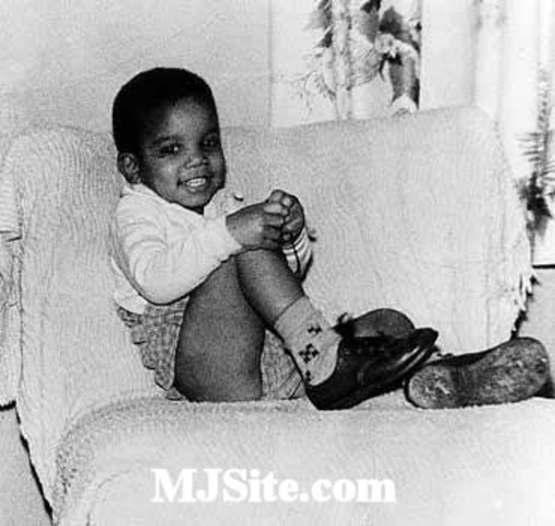 Michael Jackson's birth