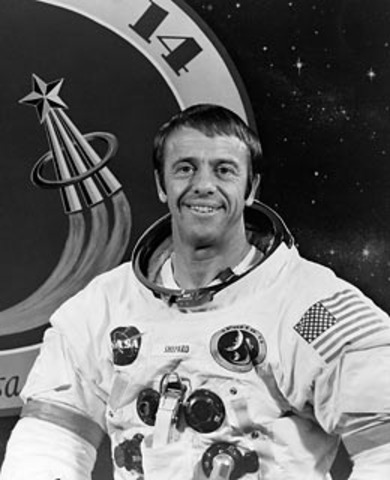 1st American in space
