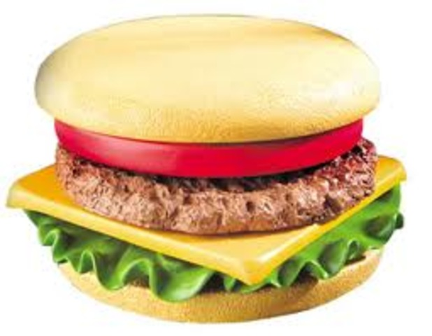 Cheeseburger is created.