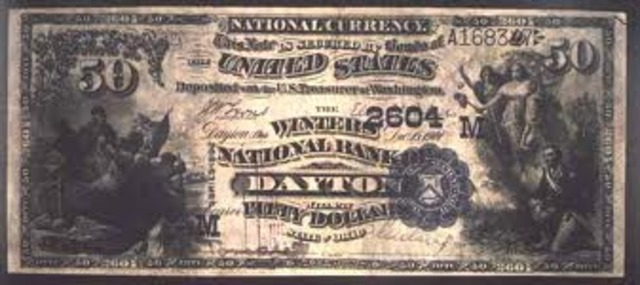National Banking Acts 1864 and 1865