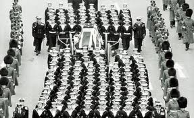 Winston Churchill's Death