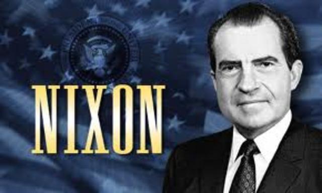 Richard Nixon elected
