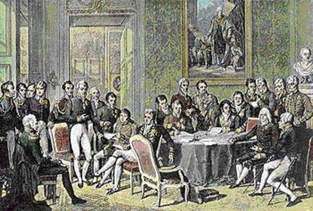 Congress of Vienna organizes German States.